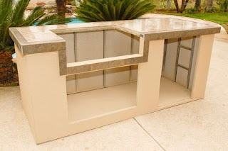 Prefabricated Outdoor Kitchen Islands Island Kit Tuckr Box Decors Kits
