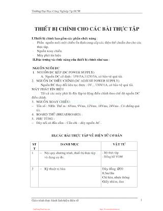 ĐHCN.Giáo trình thực hành linh kiện điện tử - Nhiều Tác Giả, 78 Trang.pdf