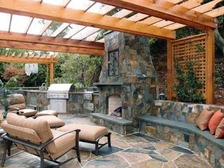 Outdoor Kitchen and Fireplace Designs 9 Design Tips for Planning The Perfect