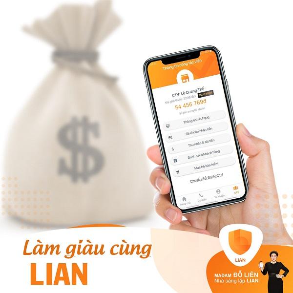 Tư vấn cách bán các sản phẩm bảo hiểm qua ứng dụng LIAN