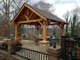 Timber Frame Outdoor Kitchen D Pavilions S Fresh Air