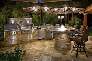 Outdoor Kitchen Cost and Patio