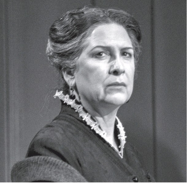 Pamela Rabe as Mrs Alving