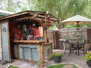 Rustic Outdoor Kitchens and Patios Google Search Yard Ideas In