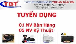 Công Ty Tnhh Máy In Thuận Bảo Tín Cần Tuyển 02 Nhân Viên Nữ Bán Hàng Làm Việc Tại Đà Nẵng