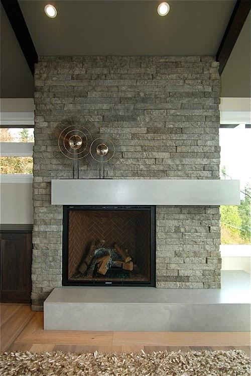 Eldorado Sage LedgeCut33 Fireplace 001