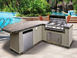 All in One Outdoor Kitchen Master Forge Modular S Home Ideas Master
