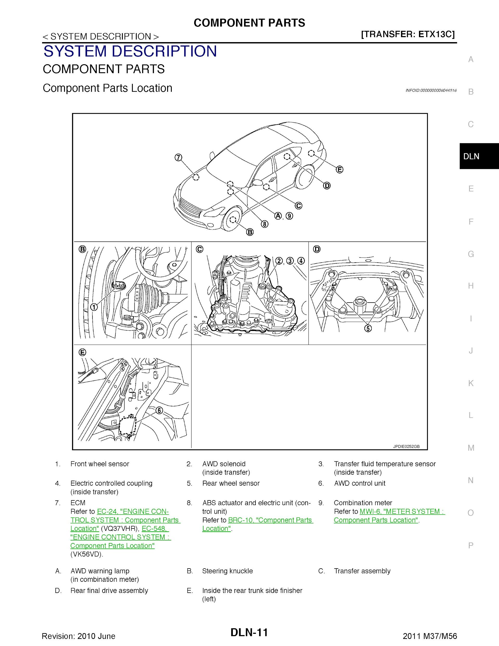 Download 2011 Infiniti M37 and M56 Repair Manual