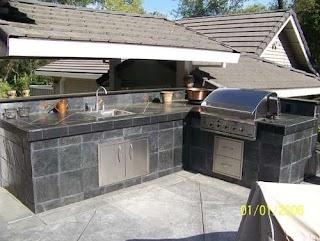 Tile Outdoor Kitchen Custom and Luxury S Berkeley S