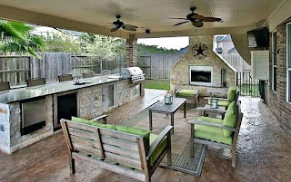 Outdoor Covered Kitchen Patio Designs Patio S With