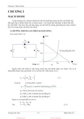 Giáo Trình Mạch Điện Tử - Trương Văn Tám, 260 Trang.pdf