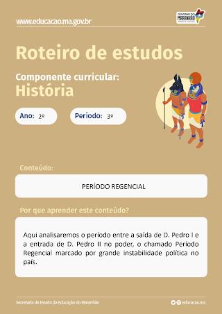 PERÍODO REGENCIAL E A REVOLTA DO MALÊS
