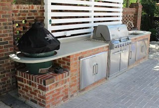 Outdoor Kitchen Concrete Countertops for Charlotte Nc Rsca