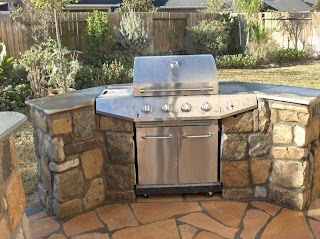 Flagstone Outdoor Kitchen Stone S Backyard Bars in Houston Tx Stevens