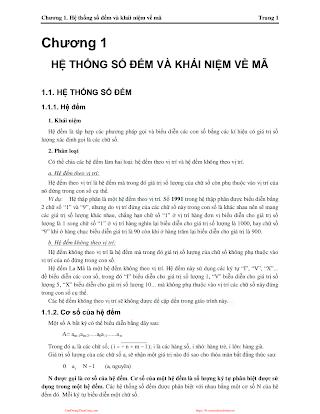 Bài Giảng Kỹ Thuật Số - Nhiều Tác Giả, 121 Trang.pdf
