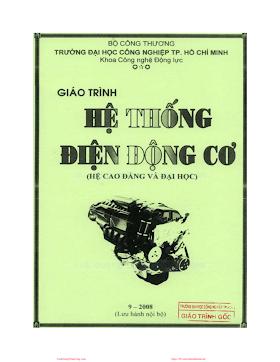 ĐHCN.Giáo Trình Hệ Thống Điện Động Cơ - Nguyễn Chí Hùng, 202 Trang.pdf