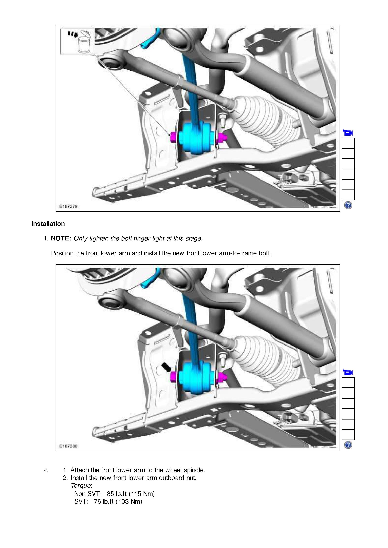 Download the OEM service and workshop repair manual 2018 ford mustang PDF