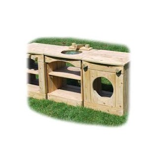 Outdoor Toy Kitchen Best Selling Educational Funny Wooden Cabinet