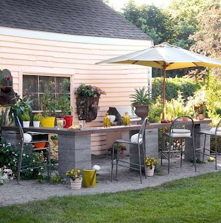 Small Outdoor Kitchen Design Ideas Acaal
