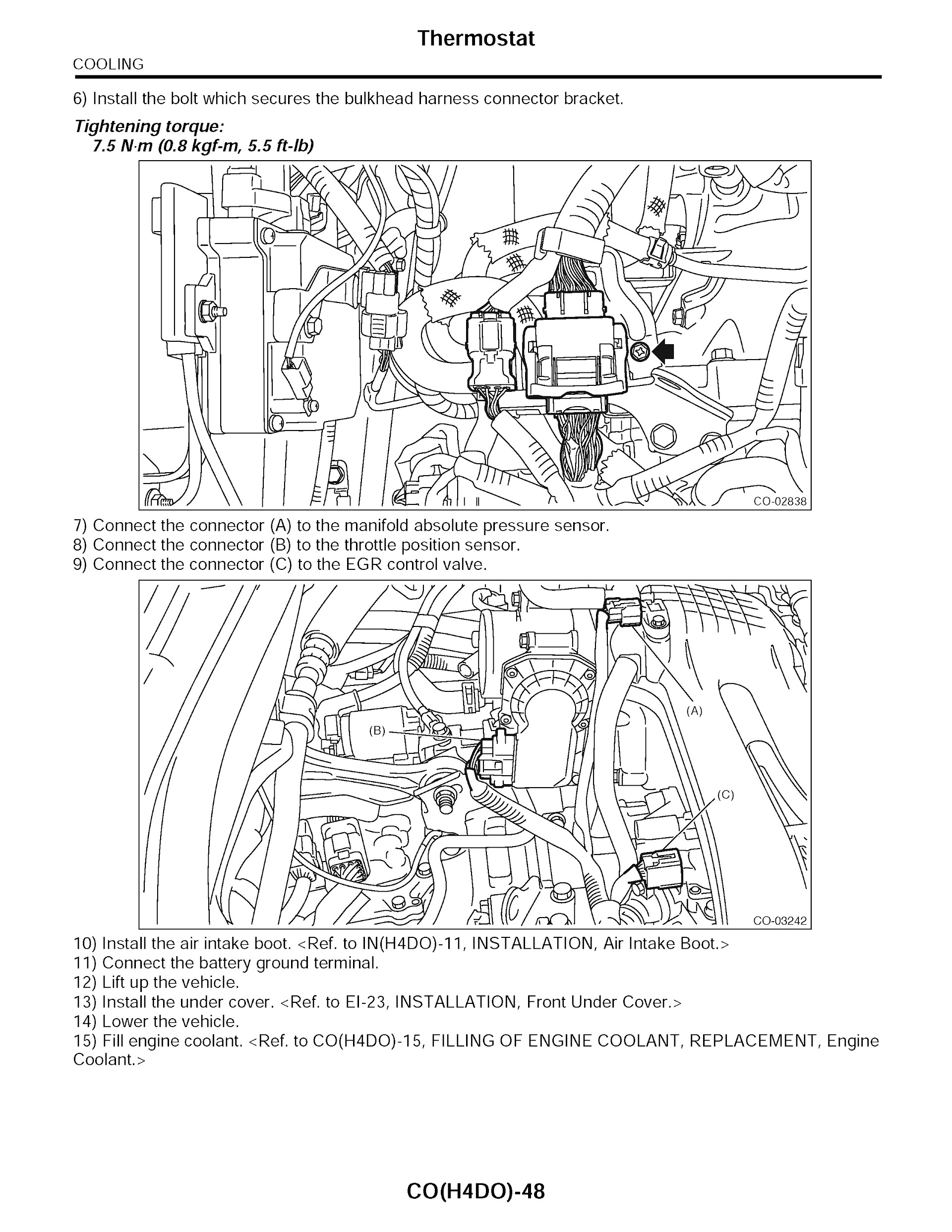 2015 Subaru Forester Service Repair Manual
