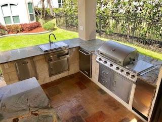 Outdoor Kitchen Builders San Antonio Diamond Decks