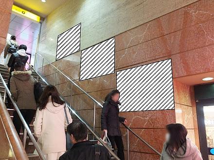心斎橋OPA階段壁面 ポスターセット