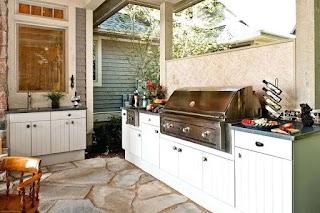 Polymer Cabinets for Outdoor Kitchens Kitchen Kitchen Storage