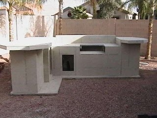 Stucco Outdoor Kitchen DIY Concrete Board Sheathing Maybe How To