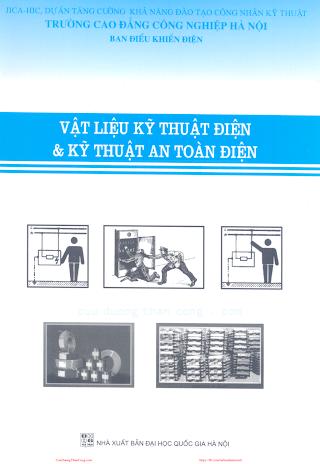 CĐCN.Vật Liệu Kỹ Thuật Điện & Kỹ Thuật An Toàn Điện - Nhiều Tác Giả, 155 Trang.pdf