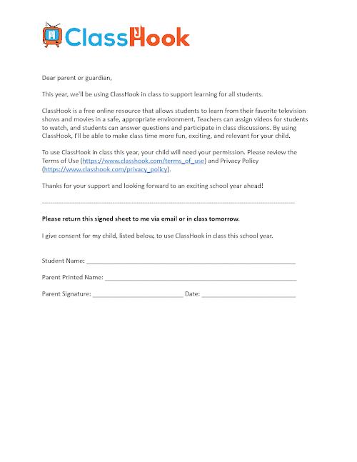 Parental Permission Letter