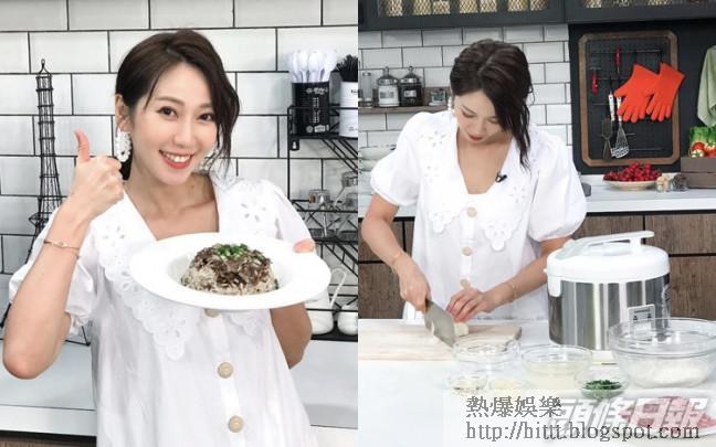 Jessica首次主持烹飪節目《台灣煮家蔡》。