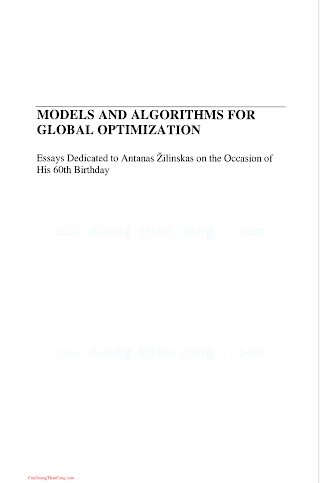 0387367209 {9A1A1FDD} Models and Algorithms for Global Optimization [Torn _ Zilinskas 2006-12-20].pdf
