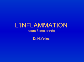 chapitre 3 INFLAMMATION.ppt