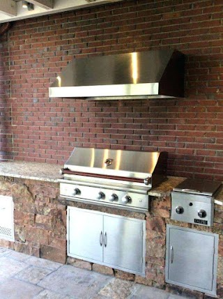 Building Outdoor Kitchen with Metal Studs How to Build an Sevenvillage