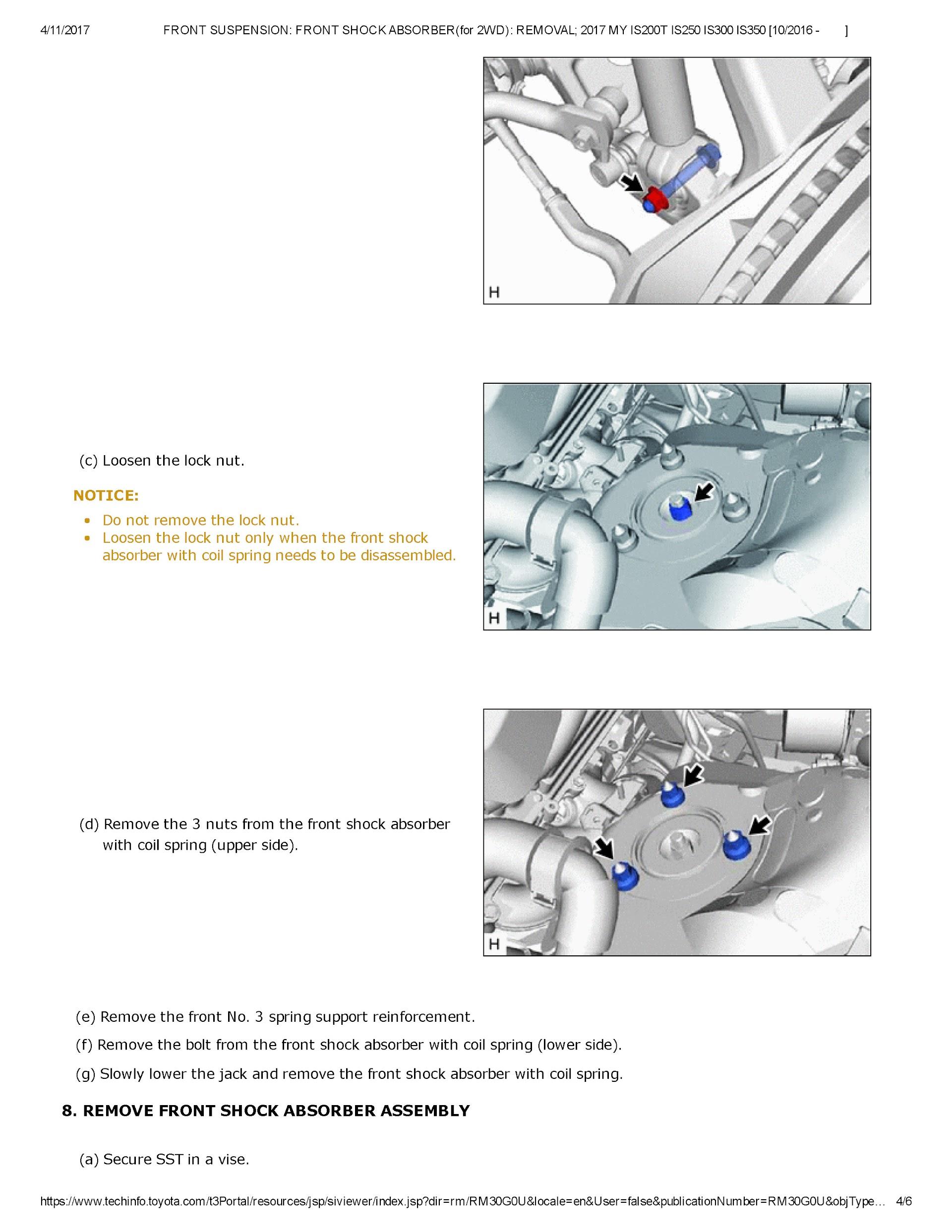 2014-2017 Lexus IS350 IS300 IS250 IS200T Service Repair Manual.