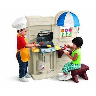 Little Tikes Indoor Outdoor Cook N Grill Kitchen Jual Kitche 450b Maia