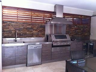 Melbourne Outdoor Kitchens Large Alfresco Kitchen Modern Deck By