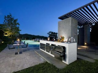 Contemporary Outdoor Kitchens Top 60 Best Kitchen Ideas Chef Inspired Backyard Designs