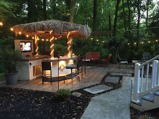 Paradise Outdoor Kitchen Backyard S in Orlando Grills Know All The