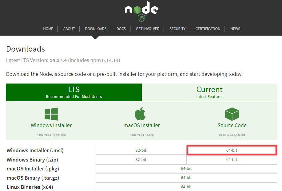 Download file node.js