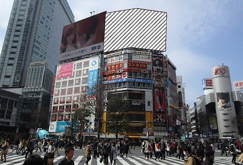 渋谷駅前ビジョン