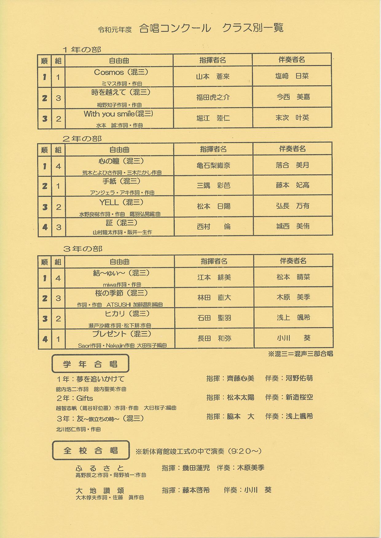 20191027 宇部市立桃山中学校 創立70周年記念 文化祭 5.jpg