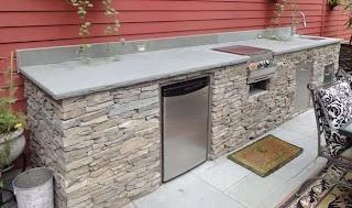 Building Outdoor Kitchen Cabinets DIY Perth Empty51pkw