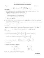 ds d'algebre (epsto)