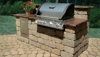 Pavestone Outdoor Kitchen Creating Beautiful Landscapes with Pavers Edgers Walls
