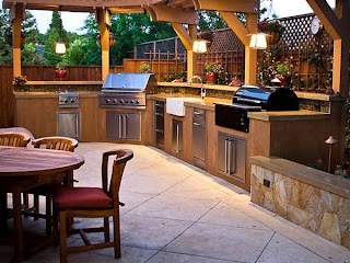 Luxury Outdoor Kitchen 35 Mustsee Designs and Ideas Carnahan