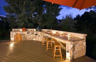 Outdoor Kitchen Area Cookingcooldesignsbbqbetterideal2