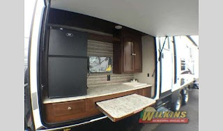 Bunkhouse with Outdoor Kitchen Beautiful Travel Trailer Including Cook Stove