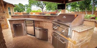 Pictures of Outdoor Kitchens Kitchen Design Custom