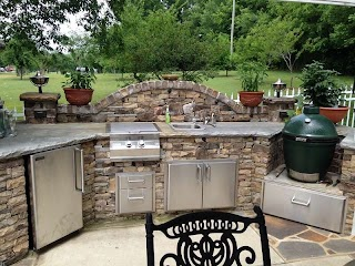 Outdoor Kitchen Decor Slate and Stone Realivinnet